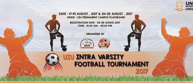 UIU Intra Varsity Football Tournament 2017