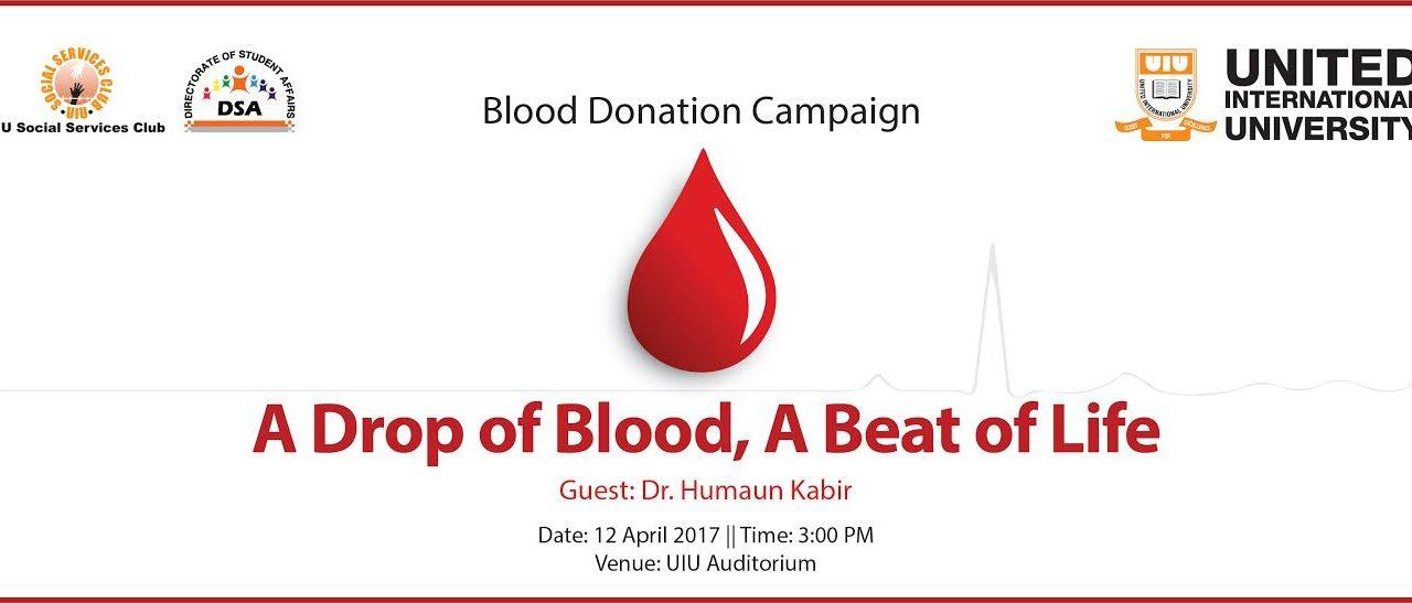 Voluntary Blood Donation Campaign & Seminar
