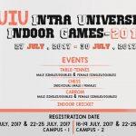 UIU Intra University Indoor Games- 2017